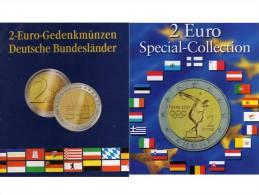 Münzen-Buch 2€-Europa 2004-2013 Neu 18€ Für 73 Der Neue 2EURO-Sondermünzen Aller Verschiedenen Euroländer Zum Einclicken - Boeken & Software