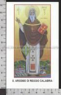 Xsa-11058 S. San ARSENIO DI REGGIO CALABRIA ARMO Santino Holy Card - Godsdienst & Esoterisme