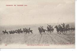 MILITAIRE - Croquis De Guerre 1914 - Une Charge De Cavaleire Française - Oorlog 1914-18