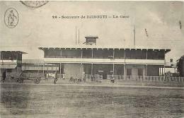Afrique - Africa - Djibouti - Ref A388- Souvenir De Djibouti - La Gare Ligne De Chemin De Fer   - Carte Bon Etat - - Djibouti