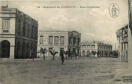 Afrique - Africa - Djibouti - Ref A385- Souvenir De Djibouti - Rue Gambetta  - Carte Bon Etat - - Djibouti