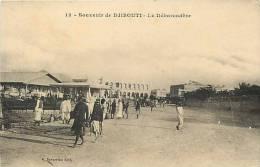 Afrique - Africa - Djibouti - Ref A383- La Debarcadere   - Carte Bon Etat - - Djibouti