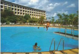 Alte AK Tropical Hotel Santarem, Swimming Pool 1985, Brasilien - Brazil - Belém