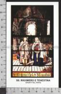 Xsa-11119 SS. RIGOMERO E TENESTINA EREMITI NEL MAINE Santino Holy Card - Religión & Esoterismo