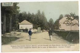Frontière Franco-Allemande, Sur La Route De SAINT-BLAISE - SENONES - Senones
