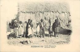 Afrique - Africa - Djibouti - Ref A361- Case Somalis  - Carte Bon Etat   - - Djibouti