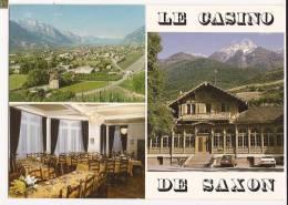 N699 Saxon, Le Casino De Saxon,Monument Historique, Multivues, Pierre à Voir. Non Circulé. Jobin 11299 - VS Wallis