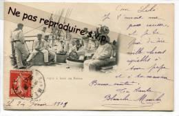 - Toulon - Marine Nationale, Le Repos à Bord Du BORDA, Précurseur, 1908, écrite, Bon état, Cachet Toulon, Scans. - Toulon