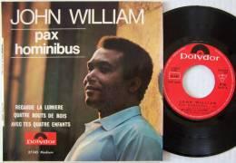 John WILLIAM RARE  EP Pax Hominibus M / Mint Tout Neuf - 45 T - Maxi-Single