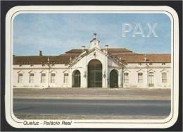 PORTUGAL - QUELUZ - PALÁCIO REAL - ENTRADA PRINCIPAL - Emissão Exclusiva SCULPARTE N.º 13.2 - 2 SCANS - Lisboa