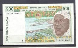AOF Togo  500 Fr 1994 - Togo