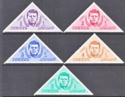 Jordan 457-61  *  TRIANGLES   JOHN F. KENNEDY - Jordan