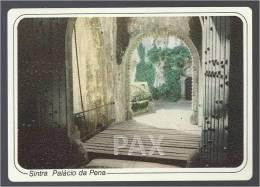PORTUGAL - SINTRA - PALÁCIO DA PENA - PONTE LEVADIÇA - Emissão Exclusiva SCULPARTE N.º 33.13 - 2 SCANS - Lisboa