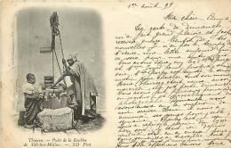 1899   Tlemcen  - Puits De La Koubba De Sidi-bou-Médine  Voyagée - Szenen