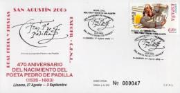 "Espagne 2005 : Enveloppe Commémorative "" SAN AUGUSTIN 2005 "" + Prix Dégressif. - Spanje"