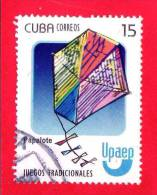 CUBA - USATO - 2009 - UPAEP - Giochi Tradizionali - Aquilone -  Papalote - 15 - Cuba