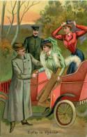 Réf : B -13-0871  : Automobile  Carte Humoristique Illustrée  Enfin Le Retour - Non Classificati