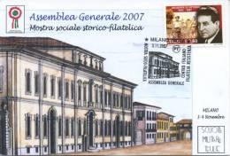 ITALIA - FDC MAXIMUM CARD 2007 - ANNIVERSARIO DELLA RESISTENZA - ANNULLO SPECIALE - Cartoline Maximum