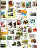 """AUSTRALIA LOT14 MIXTURE OF50+ USED STAMPS SOME 2010/12 INC.$1.20 """"WWI"""" & """"MYTH"""" ETC.READ DESCRIPTION!! - Timbres"""
