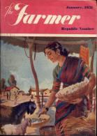 Tijdschrift Magazine THE Farmer - India - Bombay 1951 - Jardinage