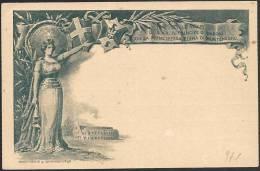 Italia/Italy/Italie: Intero, Stationery, Entier, Matrimonio, Wedding, Mariage, Colosseo, Colisée, Coliseum - 1878-00 Umberto I
