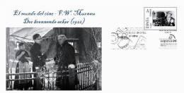 Spain 2013 - The World Of Cinema - F.W. Murnau -Der Brennende Acker (1922) Special Cover - Cinema