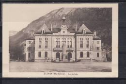 FRANCE 74.CPA.(HTE, SAVOIE).CLUSES.LA MAIRIE CIRCULÉE .1934 SANS  TIMBRE - Cluses