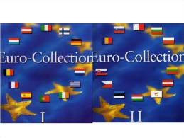 Einklick-Buch Band I+II €-Münzen 2002/08 Für 24 Set 18€ A B D E SF F GR I L NL P IRL BG CZ CY EST LV LT H M PL RO SLO SK - Numismatica