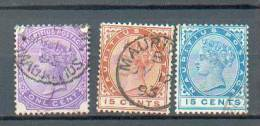 C151 - MAURICE - YT 83 à 85  Obli - Maurice (...-1967)