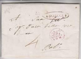 PREFILATELICA Sciacca 1831 - 1. ...-1850 Prefilatelia