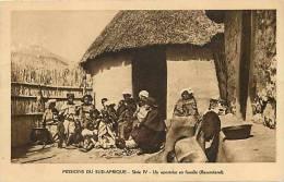 Afrique - Africa -lesotho- Ref A298- Missions Du Sud Afrique - Un Apostolat En Famille - Basutoland -carte Bon Etat   - - Lesotho