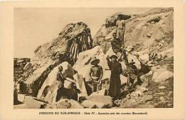 Afrique - Africa -lesotho- Ref A295- Missions Du Sud Afrique -apostolat Pres Des Ouvriers -basutoland-carte Bon Etat   - - Lesotho