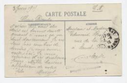 CHAUMONT - 1915 - La Caserne Avec Soldats - Carte Postale Franchise Militaire - Cachet : 3° ARMEE / Dépôt D´Eclopés - Guerre 1914-18
