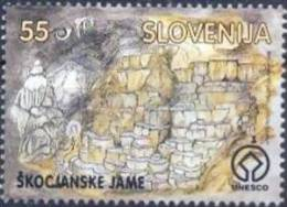 SI 1996-166 CAVE ŠKOCJAN, SLOVENIA, 1 X 1v, MNH - Geologie