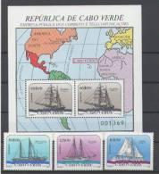 Kap Verde -  Segelschiffe / Sailingships 1987 (** / Mnh) - Isola Di Capo Verde