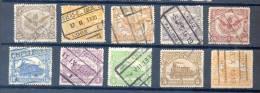 Belgie - Belgique Ocb Nr :  Lot Uit Reeks TR58 Tot 78  (zie Scan) - 1915-1921