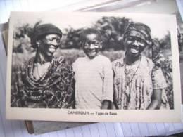 Kameroen Cameroun Types De Bassa - Kameroen