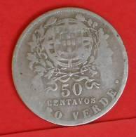 CAPE VERDE  50  CENTAVOS  1930   KM# 4  -    (1393) - Cap Vert