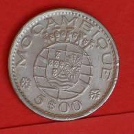 MOZAMBIQUE  5  ESCUDOS  1971   KM# 86  -    (1396) - Mozambique