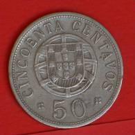 ANGOLA  50  CENTAVOS  1928   KM# 69  -    (1406) - Angola