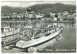 Italy, Riviera Dei Fiori, Sanremo, San Remo, Scafi Turistici In Porto, Used Real Photo Postcard [13539] - Imperia