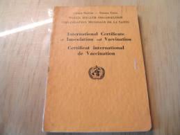 CB2  Certificat International De Vaccination International Certificate Of Inoculation And Vaccination 1952 - Sin Clasificación