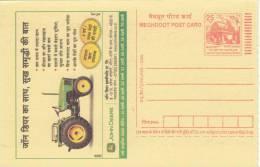 PIN Code Item 462016,  John Deere, Tractor, Transport, Computer URL,  Meghdoot Postcard., - Transport