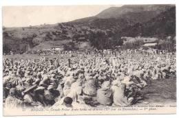 CPA Bougie Bejaia Algérie Grande Prière Sebha Ou Achrine (27 ème Jour Ramadan) 1 ère Phase édit A. Caravano N°77 - Bejaia (Bougie)