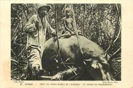 Afrique - Africa -ref A174-ouganda - Peres Blancs De L Ouganda -la Chasse Du Missionnaire - Hippopotame  - - Oeganda