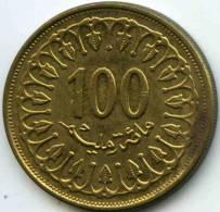 Tunisie Tunisia 100 Millim 1993 - 1414 KM 309 - Tunisie