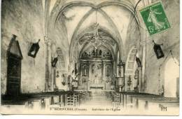 MERINCHAL - Creuse - Intérieur De L´église - Eglises Et Cathédrales