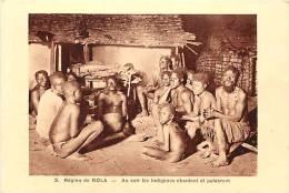 Afrique - Africa -ref A167-republique Centrafricaine - Ethnologie - Carte Bon Etat  - - Centrafricaine (République)