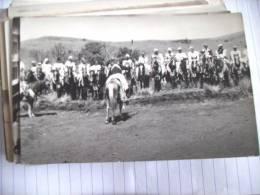 Afrika Africa Afrique Kameroen Cameroun Cheveaux Et Hommes Men On Horses - Kameroen