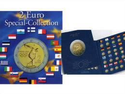 Einklick-Bücher Für 57 Neue 2EURO-Sondermünzen Plus 10 Jahre Bargeld 2012 Set 18€ Für 21x2€ Der Verschiedenen Euroländer - Numismatica